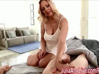Seksi nemfomanyak julia ann gives karma eğitim için wake onu yukarı! - porn video 551