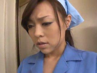 中國的 janitor reiko nakamori eats 附帶 而 shagging 在 一 band bonk