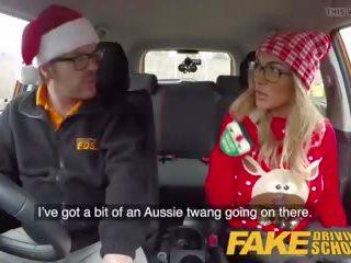 Fake driving school randy instructor fucks kiwi betje eje.