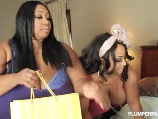 2 mamalhuda negra gordinhos lésbicas cotton candi e shanice richards