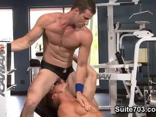 Gavin waters y rusty stevens. entrenamiento y joder.