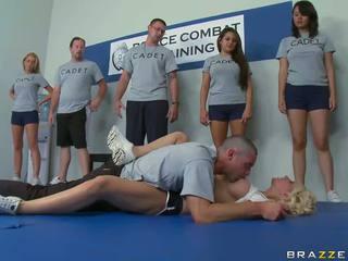 Usposabljanje took a hardcore turn