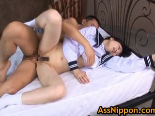 STeamy Real AsIan School Hotty Has An Aroused