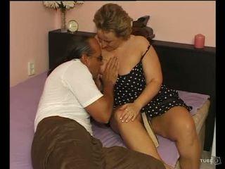 Një sexy topolake zonjë loves seks