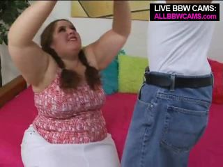 Talented gemuk wanita gemuk cantik superstar swallows bagian 1