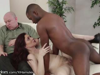 Jessica ryan has incredible bbc рогоносець секс: безкоштовно порно b4