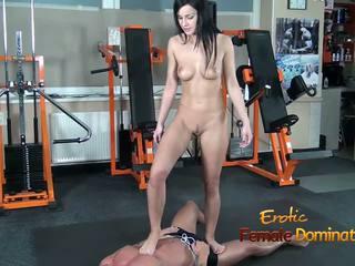 fetiș picior, masturbarea, femdom