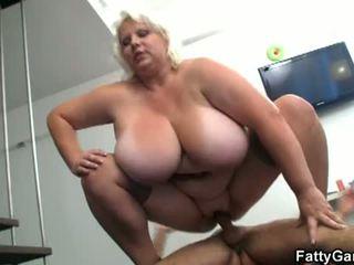 velký, prsa, pěkný zadek