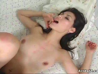 Quente japonesa miúda maria ozawa deeply fodido