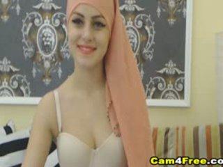 My ayu muslim pepadhamu strokes her toy