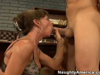 Ribald Cock Hungry Sarah Bricks Takes A Wet Cock In Her Mouth And Loves It