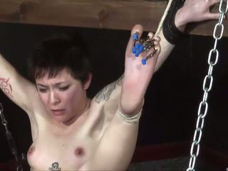 Extreme Feet Needle Torture and Foot Caning