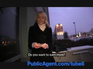 PublicAgent Blonde Lauras ass gets cov...
