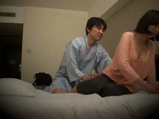 Subtitled اليابانية الفندق تدليك شفهي جنس nanpa في عالية الوضوح <span class=duration>- 5 min</span>