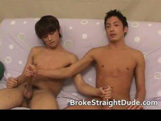 Heet en geil hetero guys having homo seks