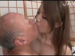 japansk, cumshot, ass