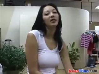 Asiática puta wants un largo blanca polla