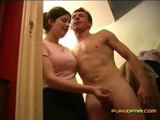 Spying pada yang nanny goncang zakar off beliau boyfriend