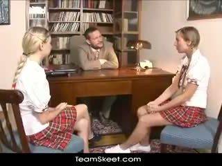 Teamskeet european schoolgirls mina and morgan bukkake gangbang bayan puni