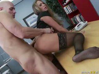 menovitý veľké prsia, kancelária sex príťažlivé, čerstvý kancelária kurva väčšina