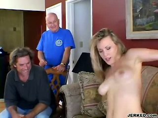 Harmony Rose Pumping That Guyr Muff On A Hard Meat Rod