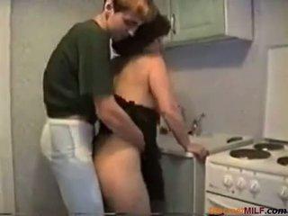 ženy v domácnosti, zralý, kuchyně