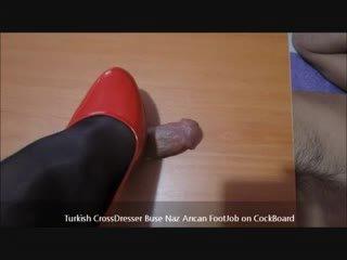 Türgi buse naz arican - jalafetiš edasi cockboard