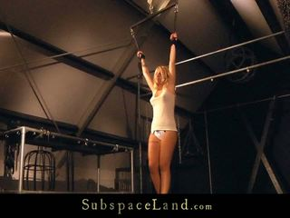 Big Shafting Suspended Punishment In The Basement For A Perverted Bondman Nymph