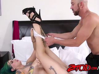oral sex, vaginal sex, caucasian, tattoos, cum shot, blowjob