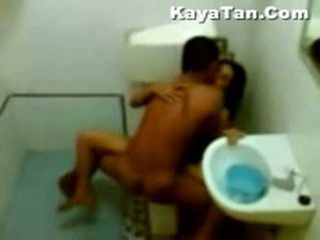 Malay sexo vídeo en baño