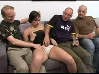 sofa, mabuk, blowjob