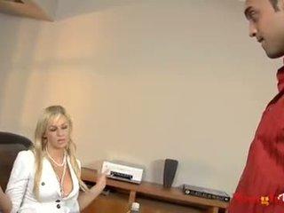 Abbey Brooks is the office slut