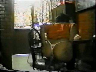 Mexicana asiendo 肛交 con un palo de escoba