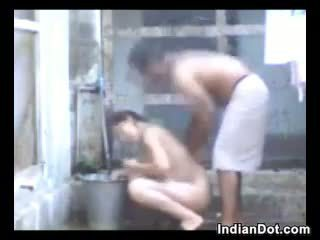 душ, на відкритому повітрі, індійський