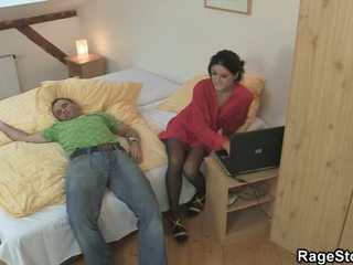 Angry Sex Nearby His Cheating Crotch