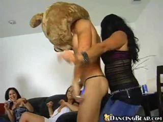חרמן בנות שיחה למעלה the רוקדים דוב ל enjoyment