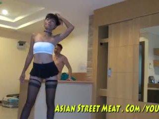 アナル hook のために アジアの maket meat