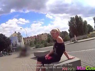 MallCuties - Blonde amateur girl cheats