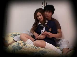 Spycam Young Schoolgirl Seduced