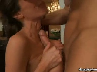 VeroNica Avluv Doing A Tit Fuck In Tthat Guy Kitchen