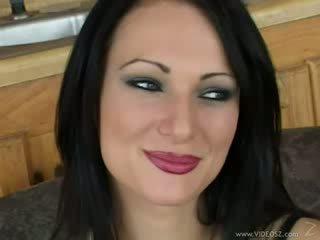 brunetă, assfucking, tâmpit