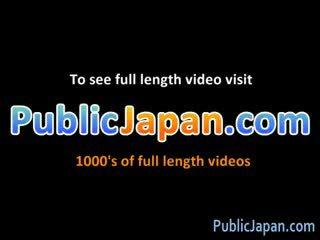 brunetă, japonez, voyeur