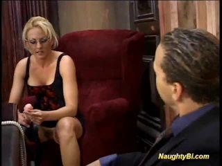Blondine harlot shafts biseksueel fellows