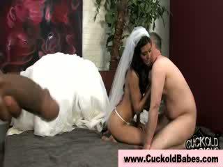 cuckold, bbc, bride