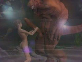 Animasi pornografi seks 3d fantasy dengan demons 2