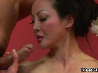 Mature Asian Angie Venus sucks and fucks good Video