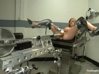 Lexi belle has máquina shagged depois gyno exame