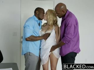 Blacked cadence lux addicted a grande negra polla