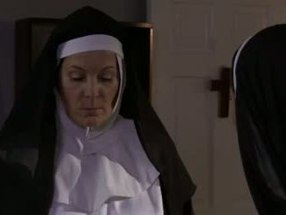 Horny Mature Nun and Bitch Lesbian Sex (roleplay)