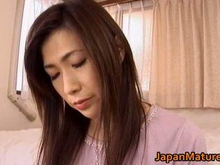 Japanese Mature Woman Has Cute